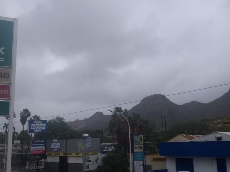 Se adelanta viento y lluvia por Sergio