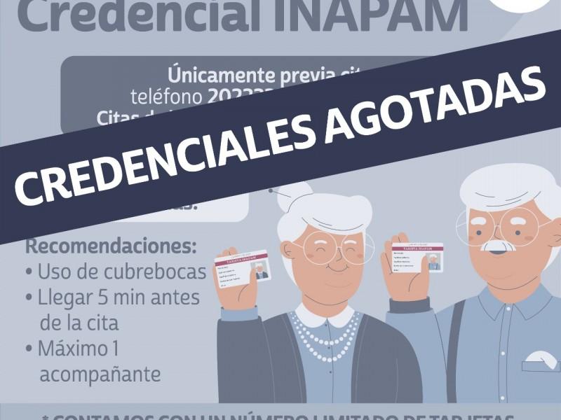 Se agotan citas para credencial INAPAM en Boca del Río