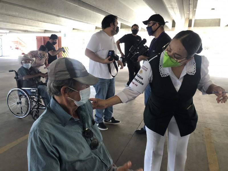 Se agotaron vacunas en Hermosillo, se aplicaron 67 mil 800