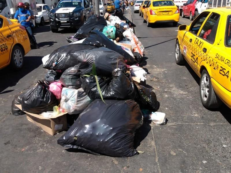 Se agudiza problemática de la basura en Salina Cruz