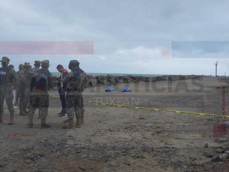 Se ahogan dos turistas en Playa Barra Norte de Tuxpan