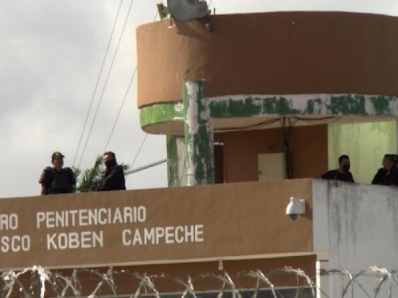 Se amotinan reos en Campeche; cinco resultan heridos