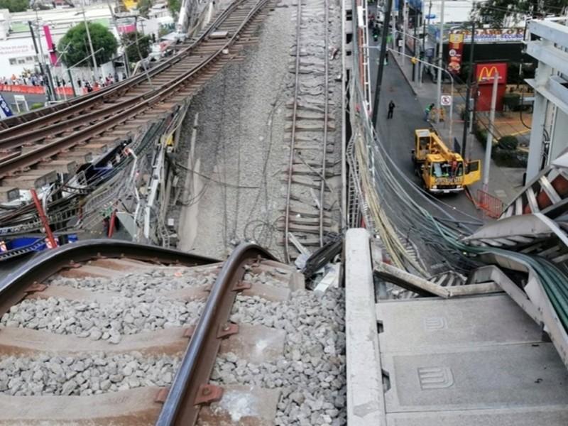 Se analizan alternativas para tramo colapsado de la Linea 12