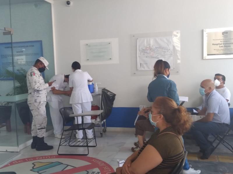 Se aplicaron 106 mil 422 vacunas contra covid-19 en Guanajuato