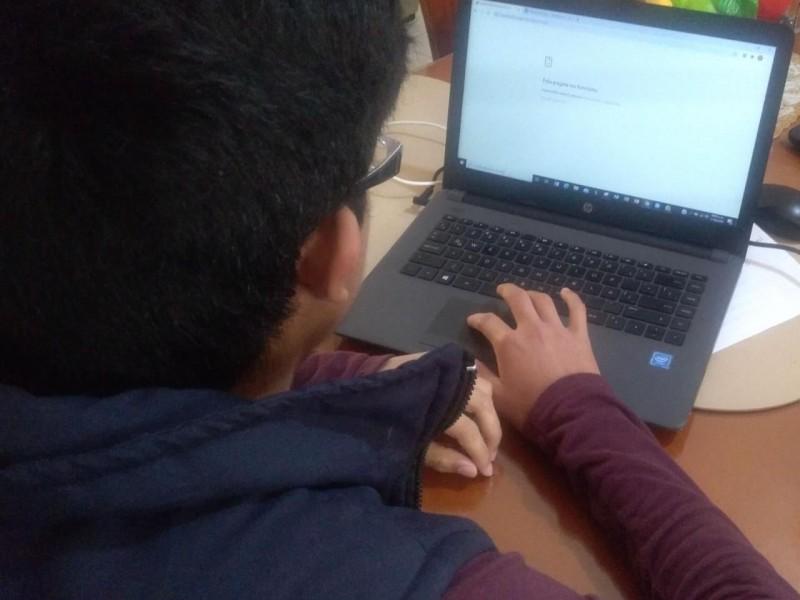 Se cae el sistema para realizar en línea examen de admisión COBACH