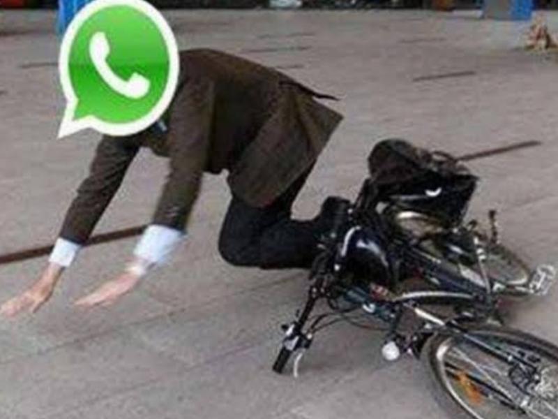 Se cae WhatsApp y usuarios se vuelven locos