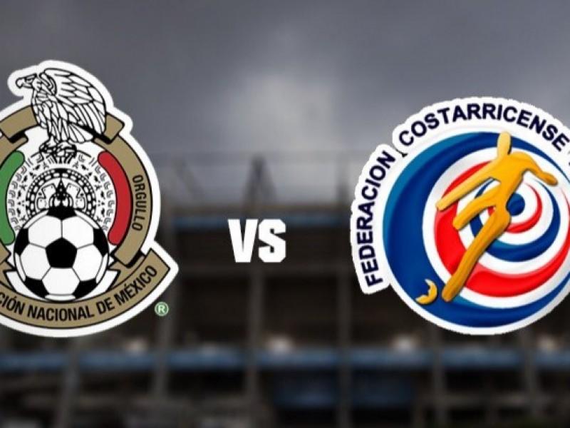 Se canceló el encuentro entre México y Costa Rica
