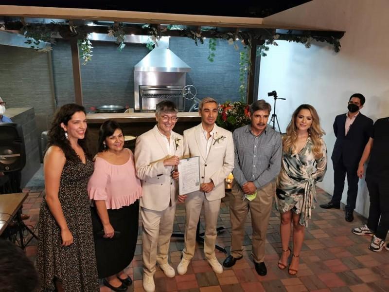 Se casa primera pareja del mismo sexo en Sonora