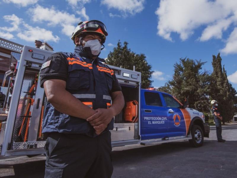 Se conmemora el Día Nacional de Protección Civil.