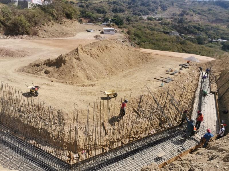 Se construye terminal de corto recorrido en Copainalá