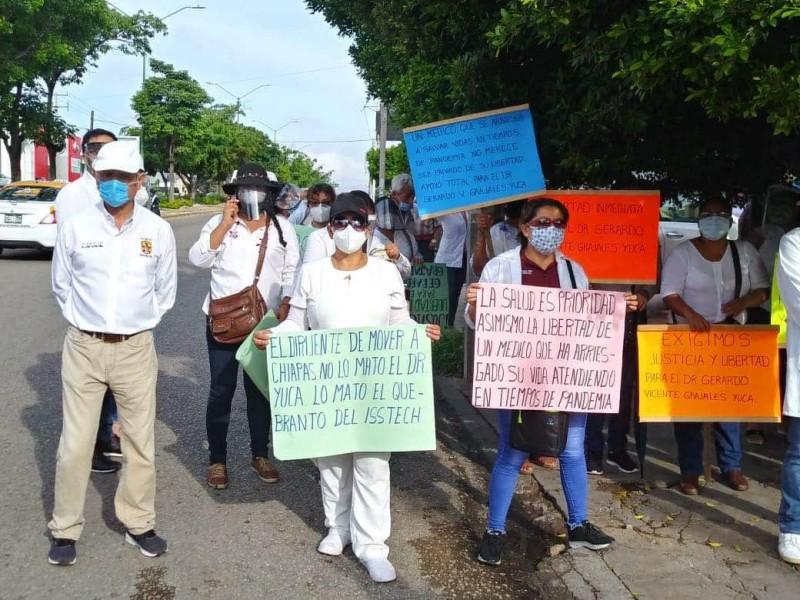Se cumple una semana de la detención de médico Chiapaneco
