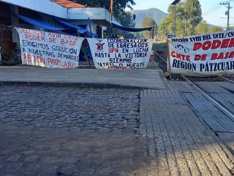 Se cumplen 100 días de bloqueos en vías férreas michoacanas