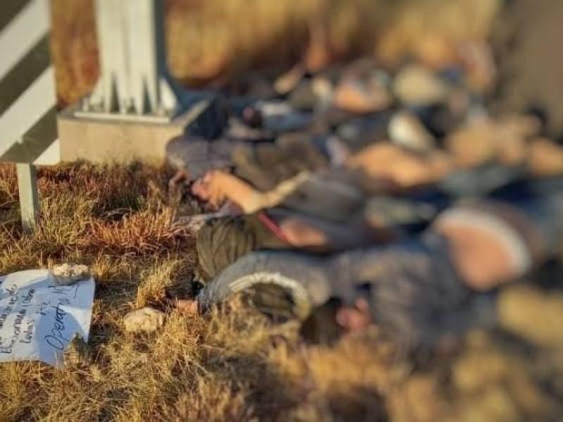 Se desborda la violencia en Zacatecas,20 muertos en 24 horas