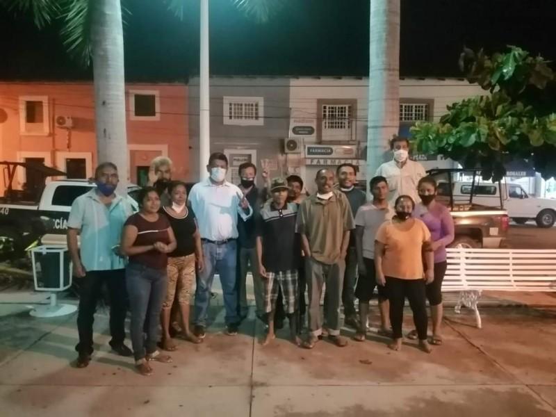 Se deslinda diputado de invasión de predio en San Vicente