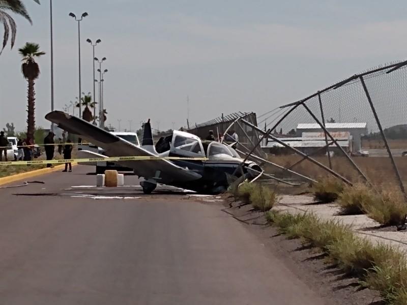 Se desploma avioneta en Lerdo
