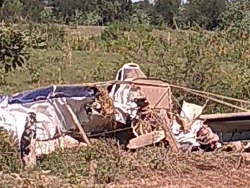 Se desploma avioneta en Tuxpan