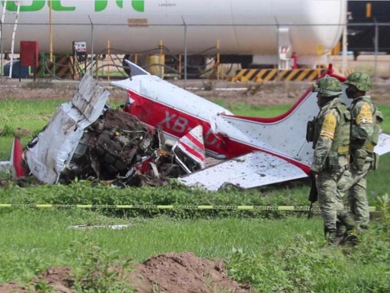 Se desploma avioneta y muere presunto nieto de Amado Carrillo