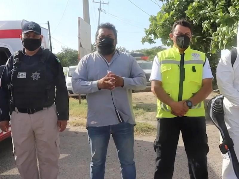 Se determina el paso a semáforo amarillo en Juchitán