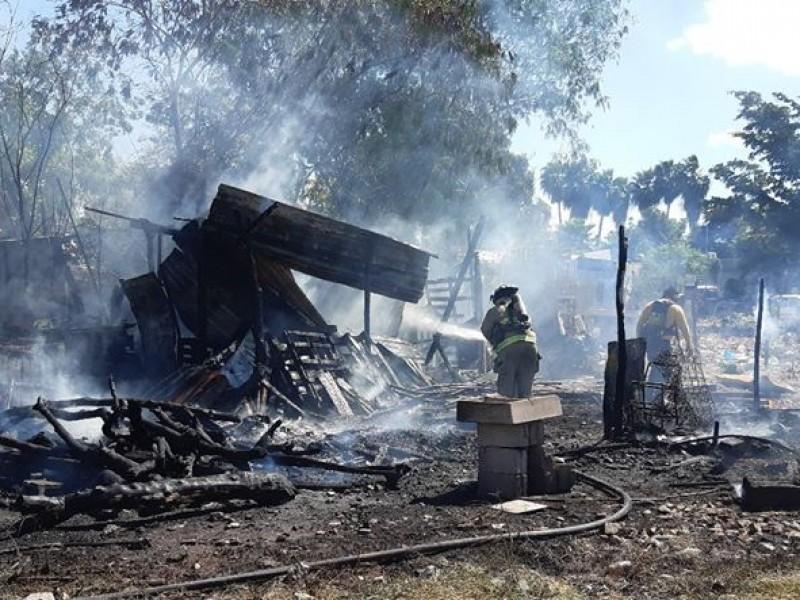 Se disparan incendios en Ahome durante contingencia