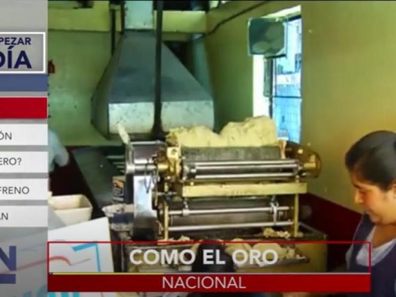 Se dispara precio del kilo de tortilla en 12 estados