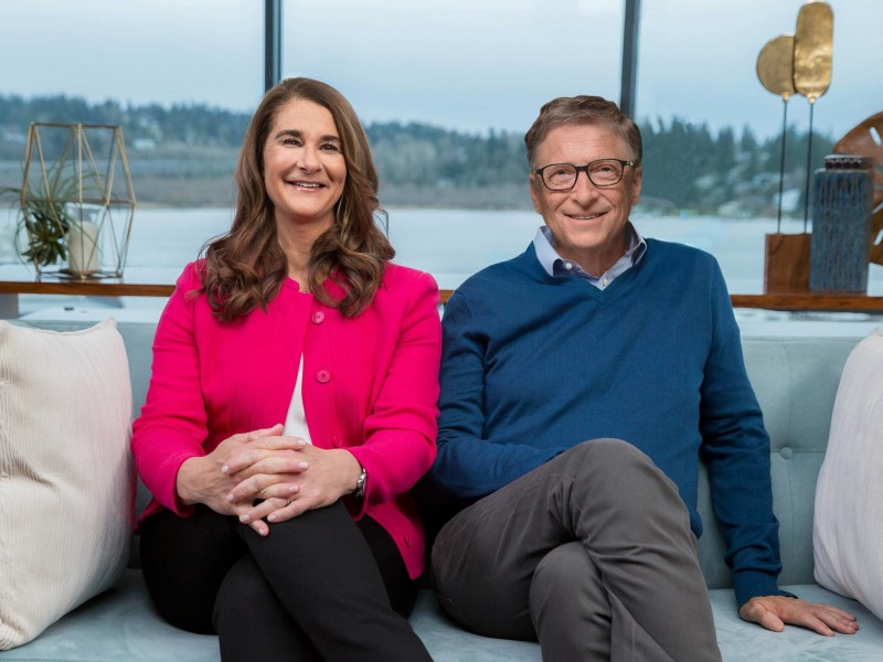 Se divorcian Bill y Melinda Gates