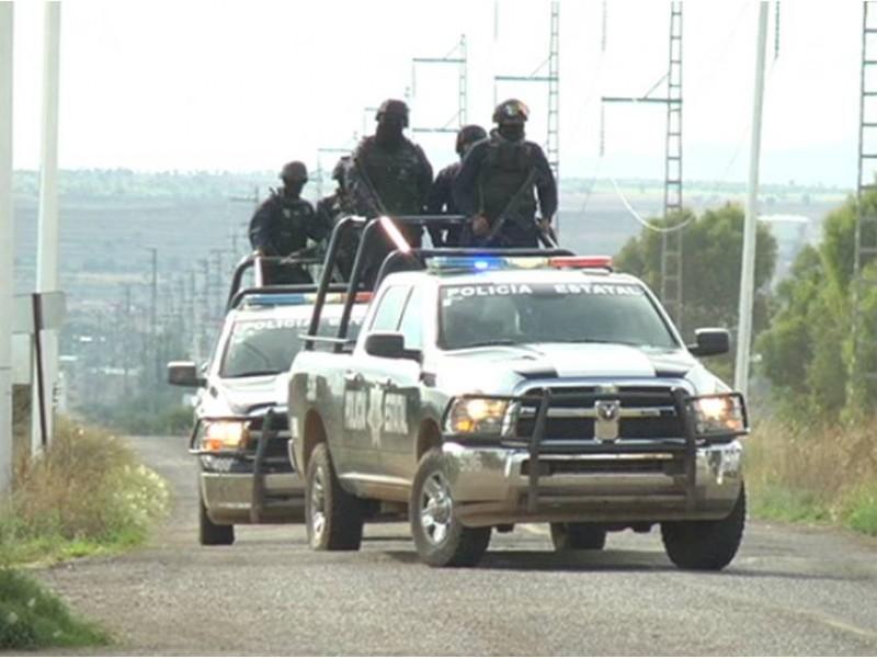 Se enfrentan estatales y delincuentes en Pánfilo Natera