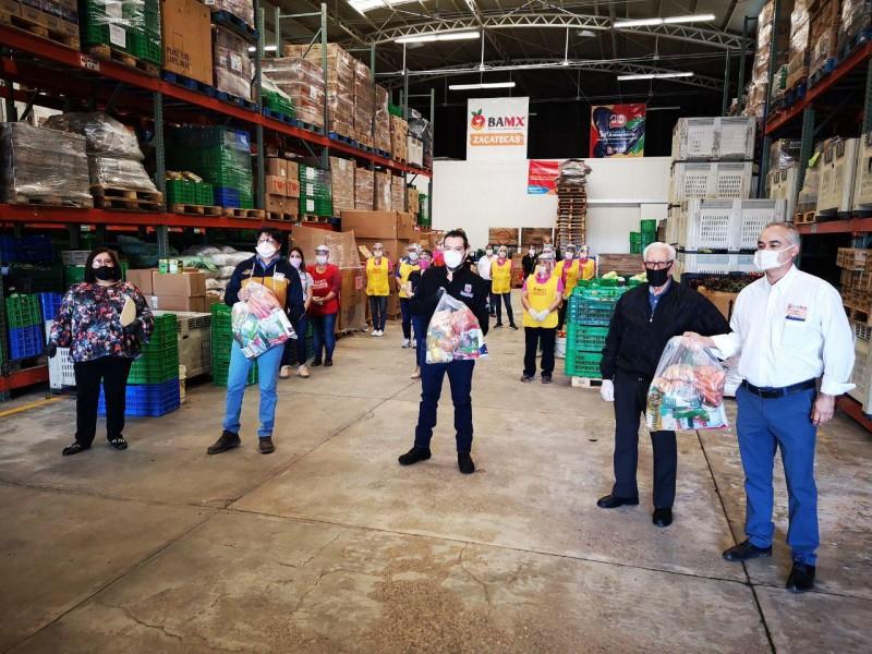 Se entregan los primeros 750 apoyos de asistencia alimentaria