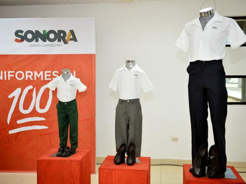 Se entregan más del 60% de uniformes escolares