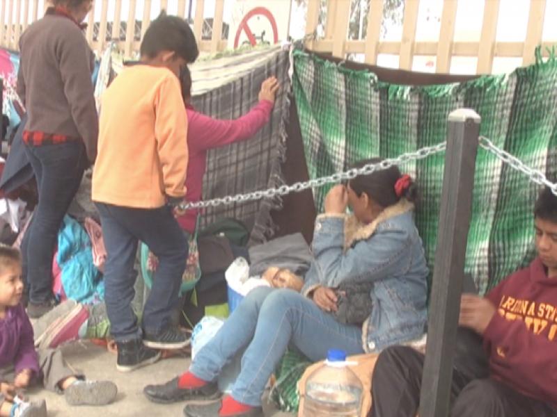 Se espera que llegue caravana con 2500 migrantes