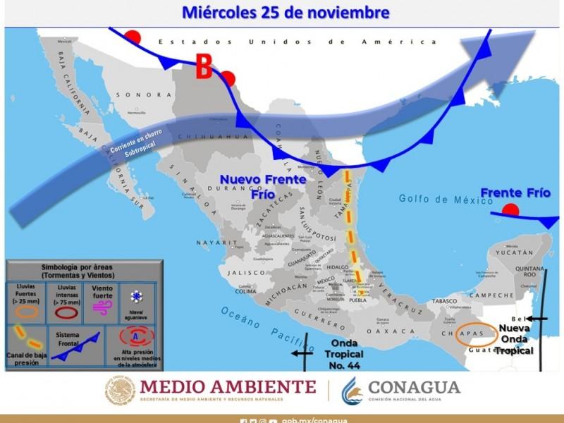 Se esperan fuertes lluvias y bajas temperaturas en Puebla