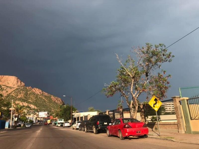 Se esperan lluvias en Sonora por