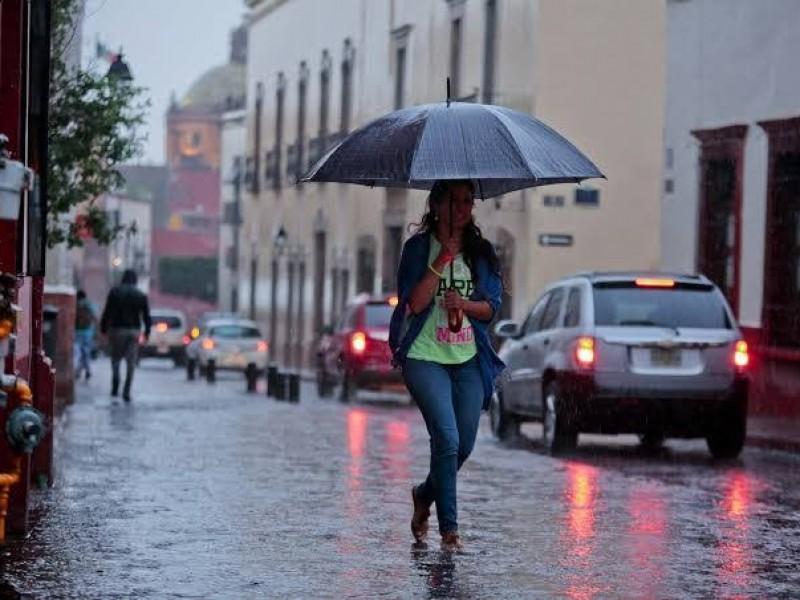 Se esperan lluvias para esta semana en la capital queretana