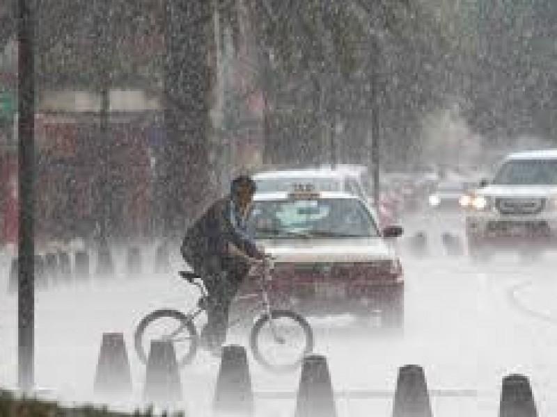 Se esperan lluvias y granizo en CDMX