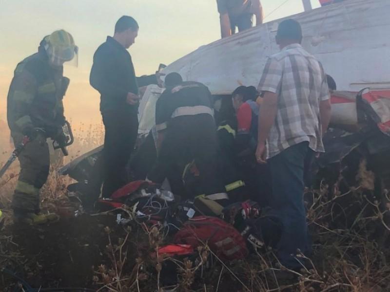 Se estrella avión de pasajeros en Sudáfrica