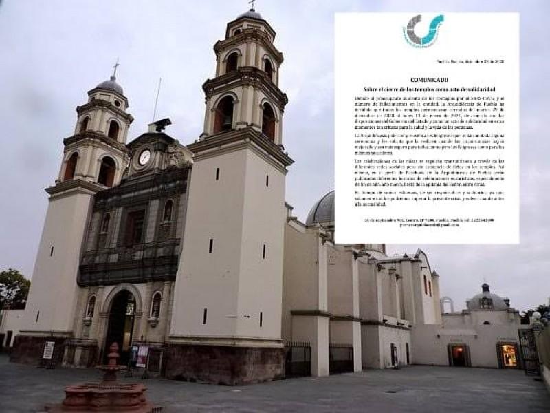 Se extiende cierres de templos religiosos