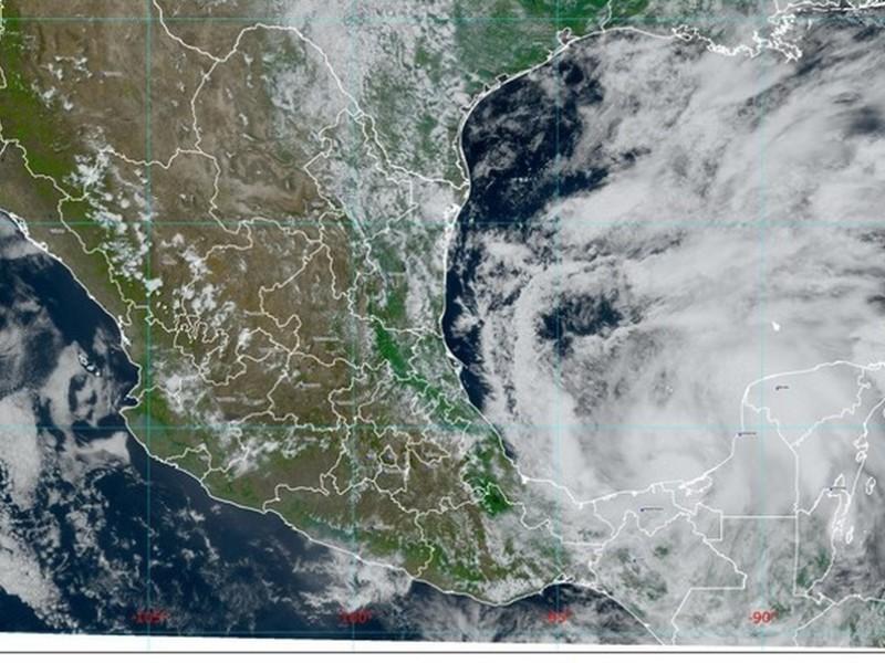 Se forma depresión tropical número 22 en Golfo de México