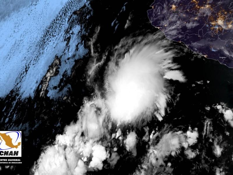 Se forma la primera depresión tropical en el pacífico