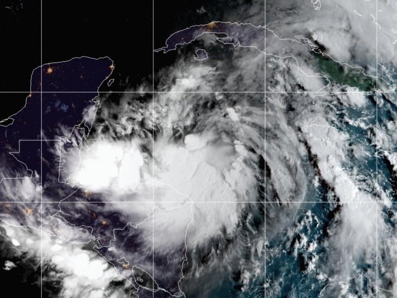 Se forma la Tormenta Tropical Zeta, en el Caribe