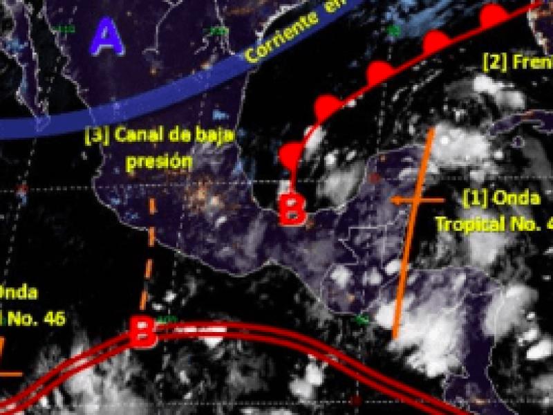 Se forma onda tropical 47 en el sureste