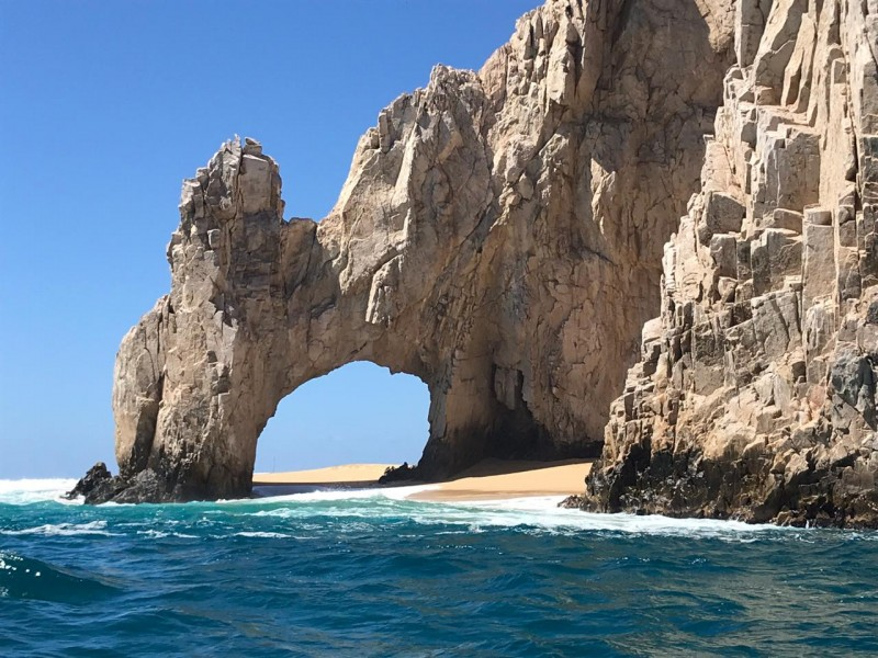 Se forma playa en el Arco de CSL