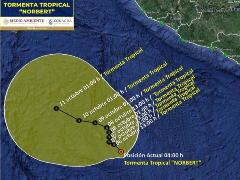 Se forma tormenta tropical