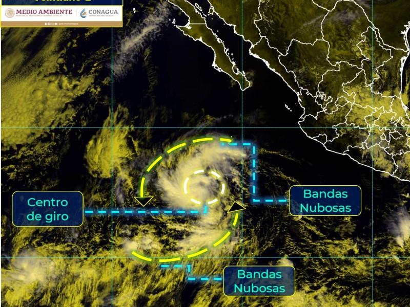 Se formó Depresión Tropical al sur-suroeste de CSL