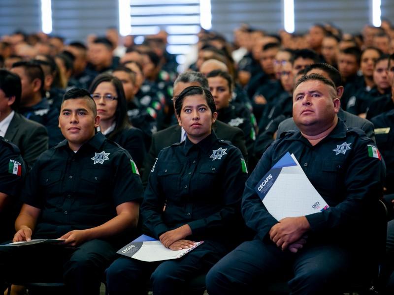 Se gradúan 428 elementos policíacos