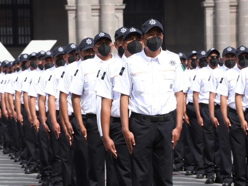 Se gradúan más de 300 cadetes en Toluca
