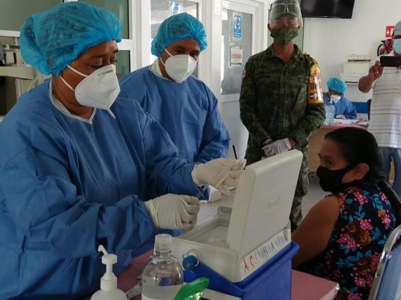 Se han aplicado 56,054 vacunas contra COVID19 en Guerrero