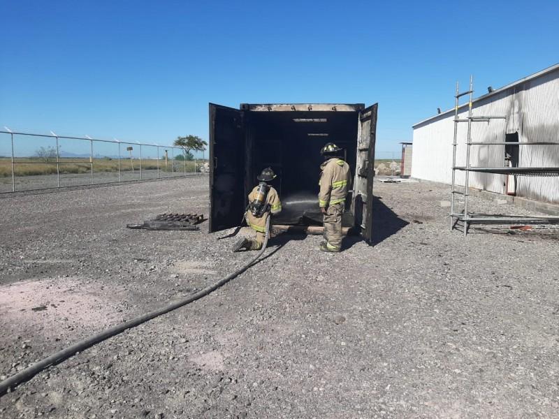 Se incendia bodega de GPO en Topolobampo
