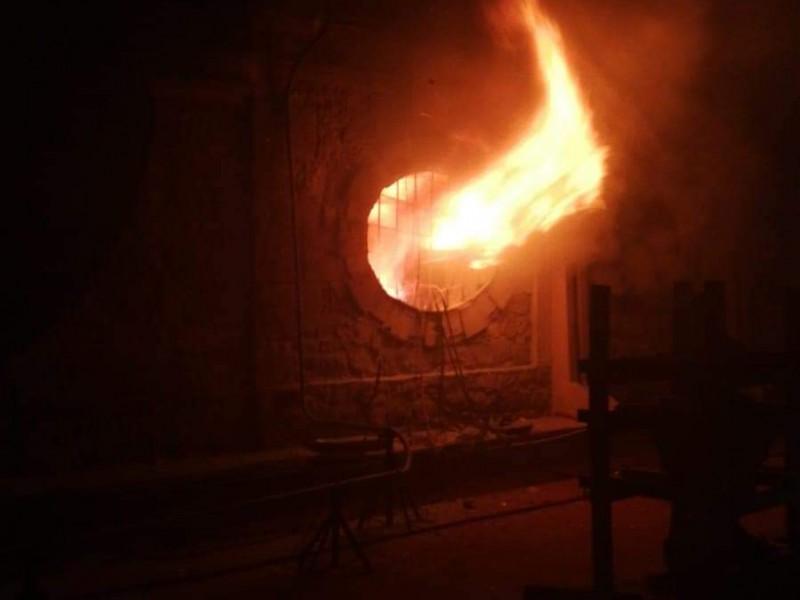 Se incendia oficina en Palacio de Gobierno