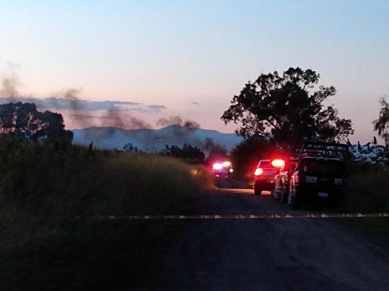 Se incendia toma clandestina en Corregidora