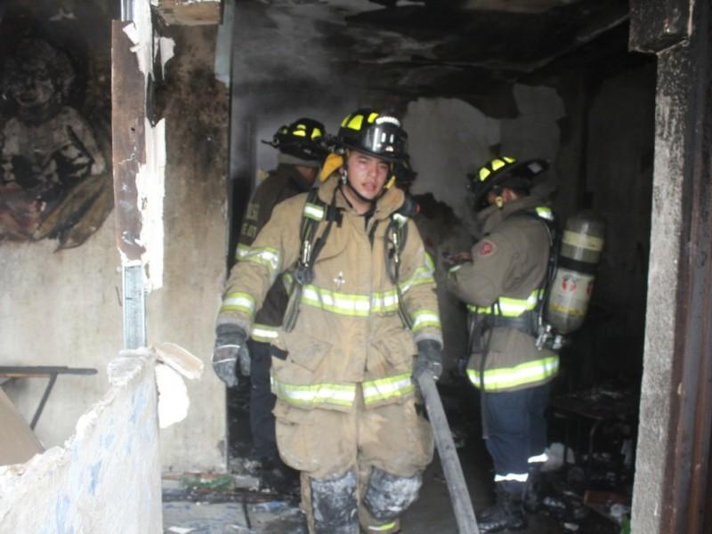 Se incendia vivienda en Guadalupe