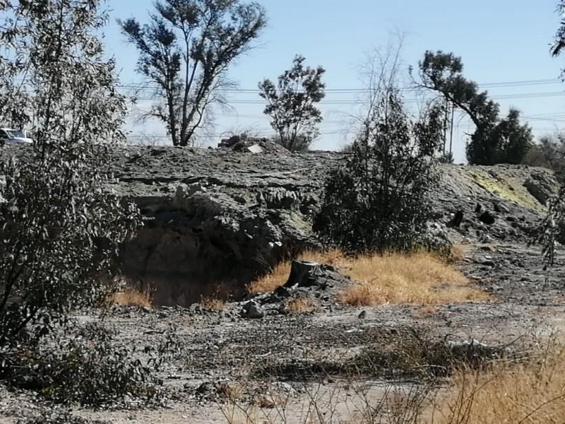 📹Se incendian pasivos ambientales de Tekchem